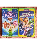 The Frog Prince and the Great Muppet Caper Lot of 2 VHS - $14.99
