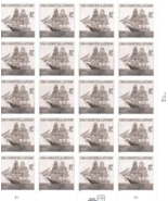 USS Constellation 20 x 37 Cent U.S. Postage Stamps 2003 Scott 3869 - €8,46 EUR