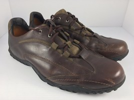 Timberland Men's size 11.5 Dark Brown Leather Smart Comfort Shoes - $26.99