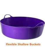 Flexible Feed Bucket Garden Small Kids Sand Ball Pit Pet Pool Water Tub ... - $23.62