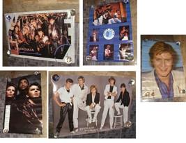 Duran Duran Power Station Poster Lot 1980s - $49.99