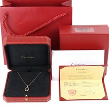 Cartier necklace K18 gold Free Shipping 100% Authentic Japan bag - $5,754.71