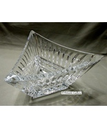"Mikasa ""Twilight"" Slovenia Triangle Crystal Bowl Stunning!! - $19.99"
