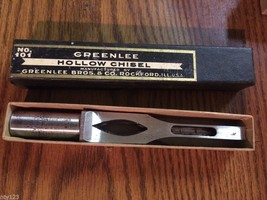 "Greenlee 5/16"" Hollow Mortise Chisel - $89.00"