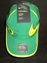 Nike Aerobill Oregon Ducks Big Swoosh Dri-Fit Mens Hat Adjustable Green NWT - $18.57