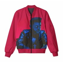 Wholesale Custom Made The Weeknd x Starboy 3D Sublimation Print Zipper Up Jacket - $54.06