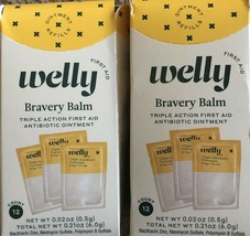 Welly Bravery Balm 2 Pack - 12 Count Per Box - $7.92