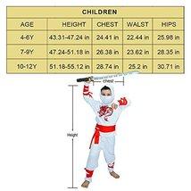 Ninja Children's Costumes 7-9Y White image 2