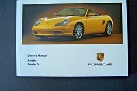 porsche boxster owners manual 2003 book convertible handbook guide new o... - $97.01