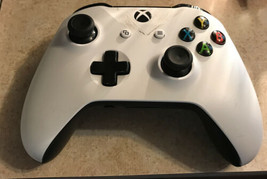 Microsoft Xbox One S Wireless Controller White - Black Back - $40.19