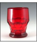 Paden City Ruby Red Georgian 9 oz Tumbler - $14.52