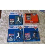 Starting Lineup Lot of 3 1995 Baseball Figures and one Wheaties Babe Rut... - $14.97
