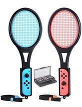 Tennis Racket for Nintendo Switch Joy-Con, Tendak Game Accessories for M... - $23.78