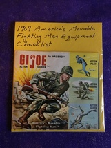 Vintage 1964 America's Movable GI Joe Fighting Man Equipment Checklist - $34.95