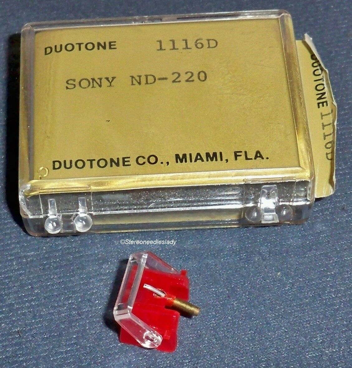 STYLUS NEEDLE FOR SONY ND-220 220G fits SONY VL20 G QUALITY DUOTONE