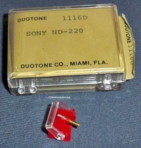STYLUS NEEDLE FOR SONY ND-220 220G fits SONY VL20 G QUALITY DUOTONE image 1