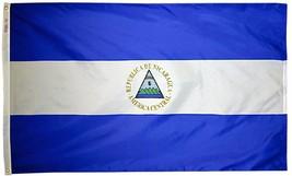 Nicaragua - 2'X3' Nylon Flag (State) - $36.00