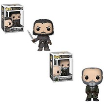 Funko POP! Game of Thrones: Jon Snow (New Style Jon Snow and Davos Seawo... - $45.66