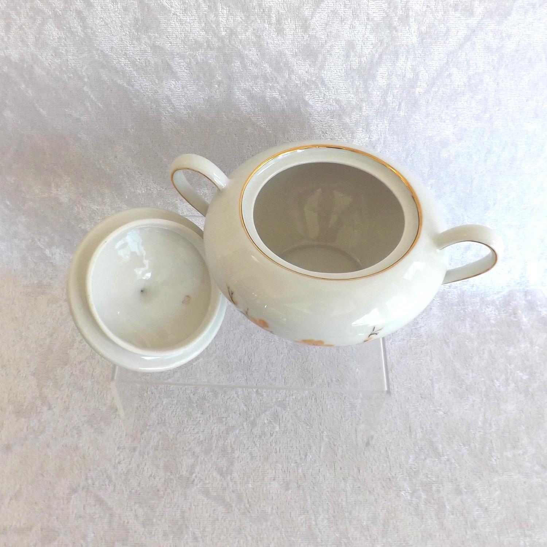Bareuther Waldsassen Cream and Sugar Set Bavaria Pattern Fine China (Germany)
