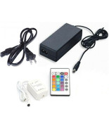 24 Key Ir Remote Controller Control For 5050 SMD RGB LED Strip & Us Powe... - $18.95