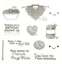 "Stamp Set ""Wool Always Be Friends"" with Matching Dies - 12 Piece Stamp Set"