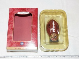 2000 Hallmark Keepsake Ornament NFL 49ers NFL Collection Football NOS - $21.37