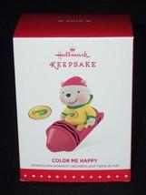 Hallmark Keepsake 2015 Crayola Color Me Happy Christmas Ornament QXI2697... - $12.16