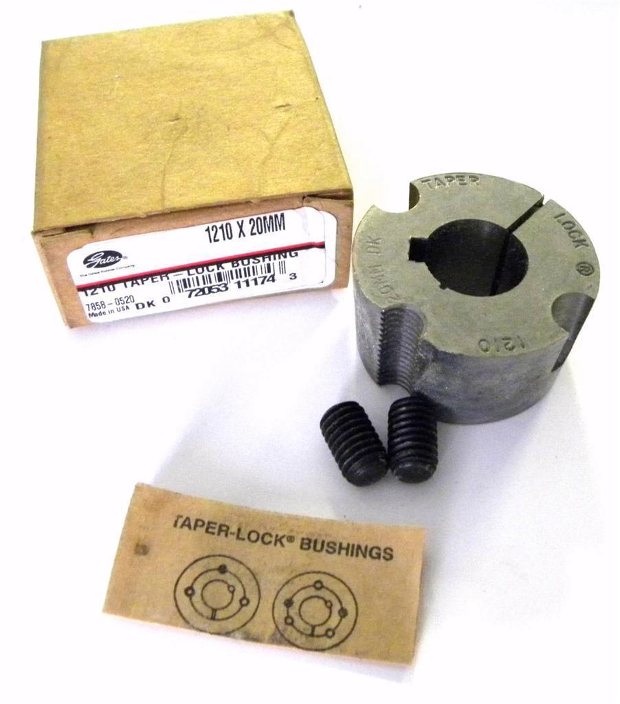 Primary image for BRAND NEW BROWNING TAPER-LOCK BUSHING 20MM BORE MODEL 1210 X 20MM (3 AVAILABLE)