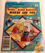 ARCHIE ANDREWS WHERE ARE YOU COMIC DIGEST - #11 - AUGUST 1979 ( GAS, ALL... - $9.95
