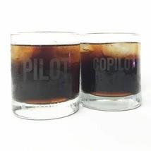 Two-Piece Pilot/Copilot Tumblers, Aviation, Pilot, Office & Home Decor  ... - $24.70