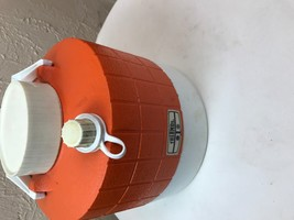 "THERMOS Vintage 1970's 1 Gallon Camping Picnic Water Jug Plastic ""Golden Orange"" - $12.16"