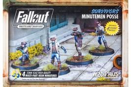 Fallout Wasteland Warfare Survivors Minutemen Posse Box Miniatures MUH05... - $21.99