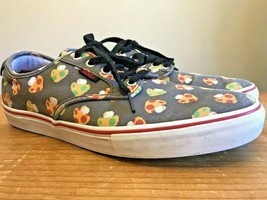 Vans Nintendo Men's Size 10 Shoes Chima Ferguson Pro Gray Mushroom Skate... - $29.69