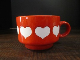 Waechtersbach West Germany Red with White Heart... - $16.90
