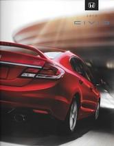 2013 Honda CIVIC sales brochure catalog US 13 LX EX EX-L Si HF HYBRID NGV - $7.00