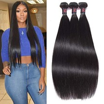 RESACA Wholesale Brazilian Straight Hair Weave 3 Bundles Human Hair Extensions R