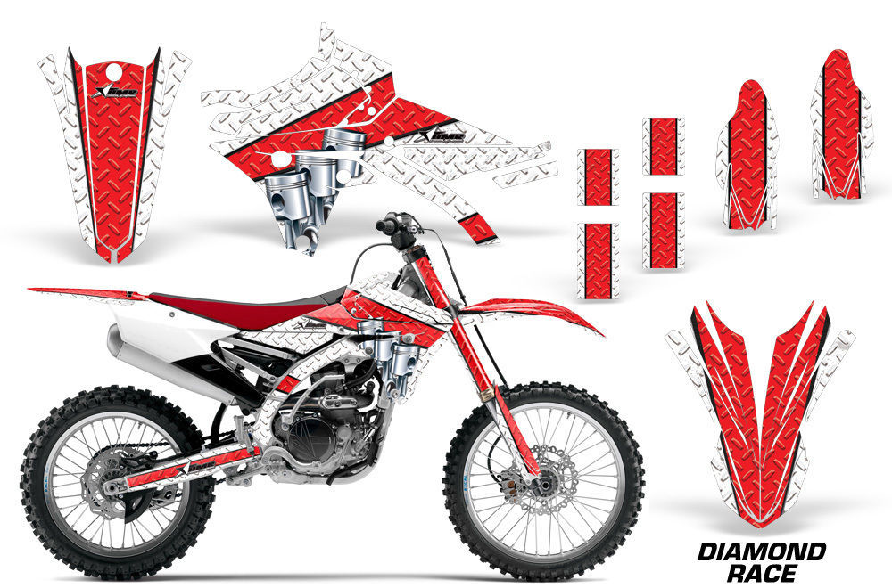 Dirt Bike Decal Graphic Kit MX Wrap For Yamaha YZ250F YZ450F 2014-2017 DRACE R W