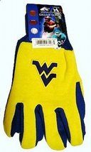NCAA Sport Utility Work Gloves with Grippy (West Virginia Mountaineers) - $8.95