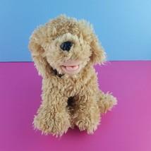 Ty Classic Skeeter Tan Shaggy Puppy Dog Plush Stuffed 2006 Tags Retrieve... - $26.73