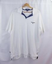 Polo Sport Ralph Lauren White Short Sleeve Polo Shirt Mens xl - $23.32