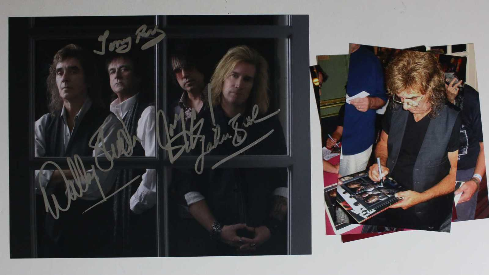 Primary image for The Babys Band Signed Autographed Glossy 8x10 Photo w/ Proof Photos