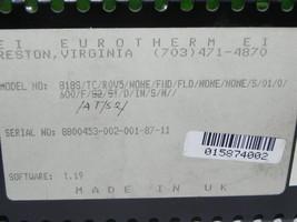 EUROTHERM 818S TEMPERATURE CONTROLLER DIGITAL DISPLAY image 2