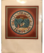 """Heinz Seelig """"Moses Parting the Sea"""" Lithograph Signed And Artist Proof - $495.00"""