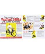 Vintage Brochure in Spanish for VeloSolex Orbea - $6.83