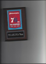 Philadelphia 76ers Banner Plaque Nba Champions Champs Basketball Nba - $3.95