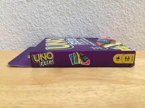 BRAND NEW UNO FLIP Card Game by Mattel Double Sided