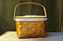 Sewing Basket AB 182 Vintage image 6