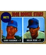 Lot of 5 1968 Topps #177 Nolan Ryan rookie reprint cards New York Mets f... - $5.94