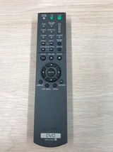 Sony RMT-D171A DVD Player Remote Control Tested And Cleaned                   S4