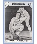 Bob Lewis and Larry Miller Basketball Card (North Carolina) 1990 Collegi... - $3.00